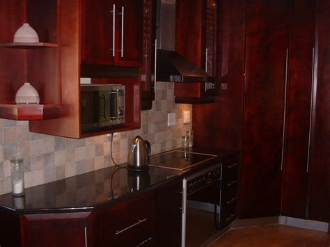 Black Wood Kitchen Cabinets mahogany cupboards nico s kitchens