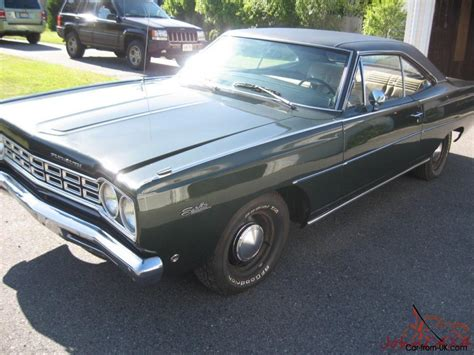 68 plymouth satellite for sale 68 1968 plymouth belvedere satellite 2 door hardtop 62160