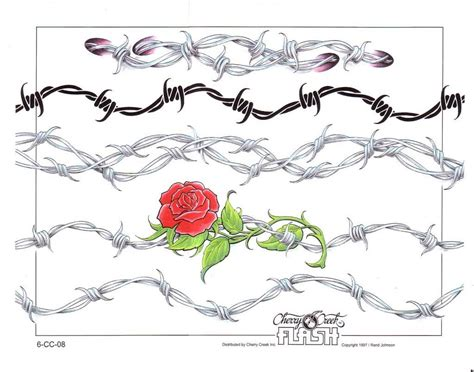 rose ankle bracelet tattoos anklet bracelet barbwire tatz