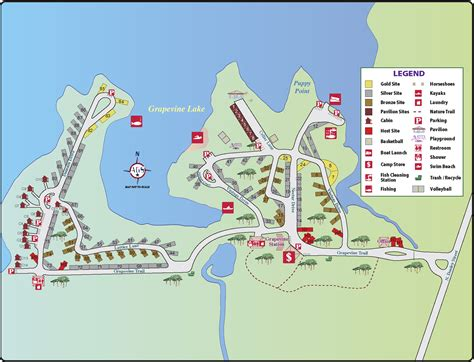 grapevine map the vineyards cground cabins grapevine tx my