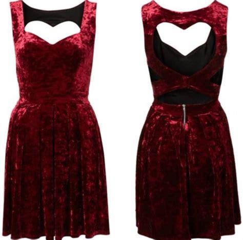 heart patterned velvet dress dress velvet red dress red velvet crushed velvet