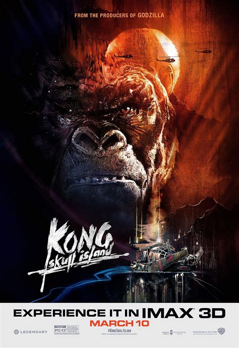 King Kong Escape From Skull Island imax kong skull island poster promises an apocalypse now