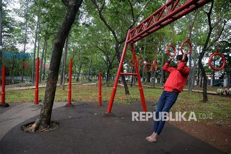 Alat Fitnes Taman tempat fitnes gratis untuk warga sukabumi republika