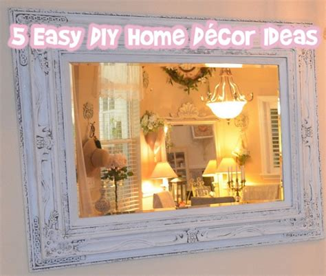 easy diy home decorating ideas 5 easy diy home d 233 cor ideas bargainmoose canada