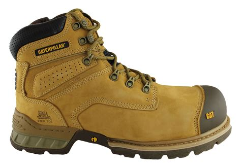 Caterpilar Boots Safety caterpillar cat brakeman 6 quot steel toe work safety boots brand house direct