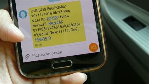format transfer sms banking bni syariah artikel format sms banking bri lengkap kode promo uber