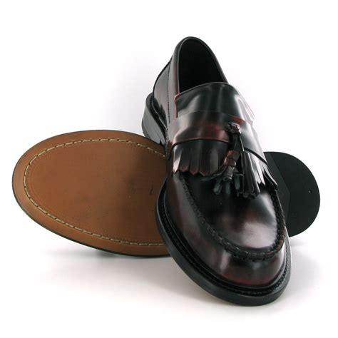 ikon selecta tassel loafers mod shoes ikon selecta oxblood tassel loafers