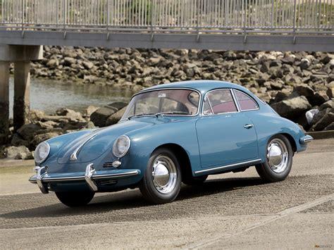 porsche 356b 1600 coupe by karmann us spec 1963 pictures