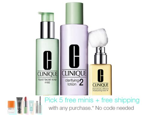 Clinique Gift Card Discount - hot 5 free clinique sles with purchase free shipping
