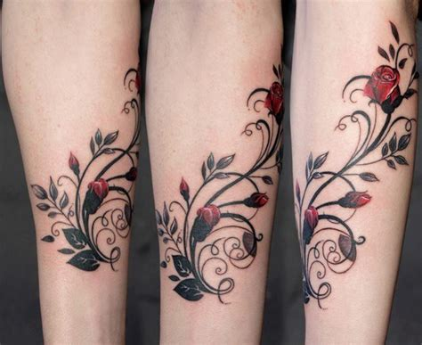 rose buds tattoo buds calf tattoos for search