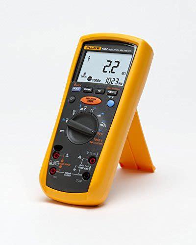 Multitester Fluke 1587 fluke 1587 insulation multimeter lcd display 2 gigaohms insulation resistance up to 1000v