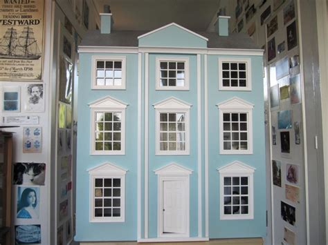 georgian dolls house for sale lovely georgian handmade dolls house the dolls house exchange