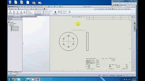 pattern a sketch in creo dimensioning a bolt hole pattern in a drawing youtube