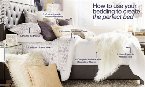 Comforter Buying Guide by Using Your Bedding To Create The Bed Overstock