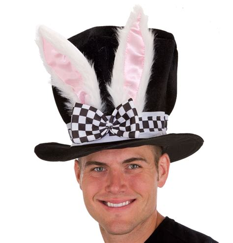 Bunny Ear Hat by Black Velvet Bunny Ear Hat 274018 Trendyhalloween