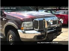 2003 Ford F250 king ranch 4x4 diesel - for sale in Houston ... 2003 Ford F350 4x4 For Sale In Texas