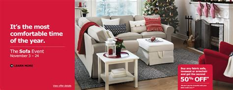 Ikea Sofa Deals by Ikea Canada Sofa Event Buy Any Fabric Sofa Loveseat Or