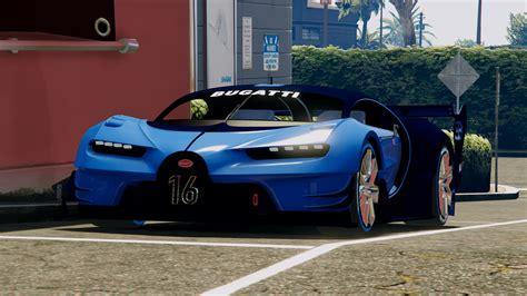 bugatti vision gt gta5 mods