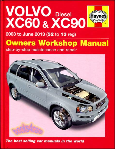volvo xc60 xc90 shop manual service repair book haynes chilton workshop awd ebay