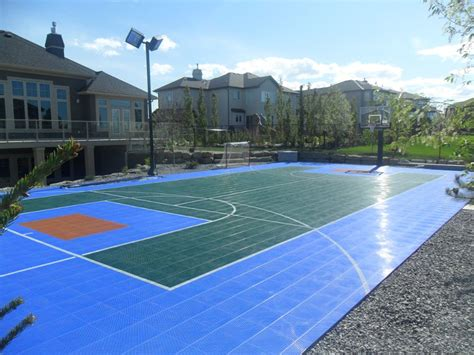 backyard sports courts sport court game courts home court sports courts