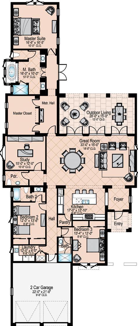 mediterra falerno villa home floor plan