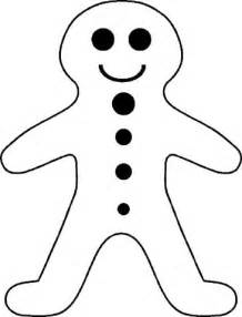 coloring page gingerbread boy gingerbread boy coloring page