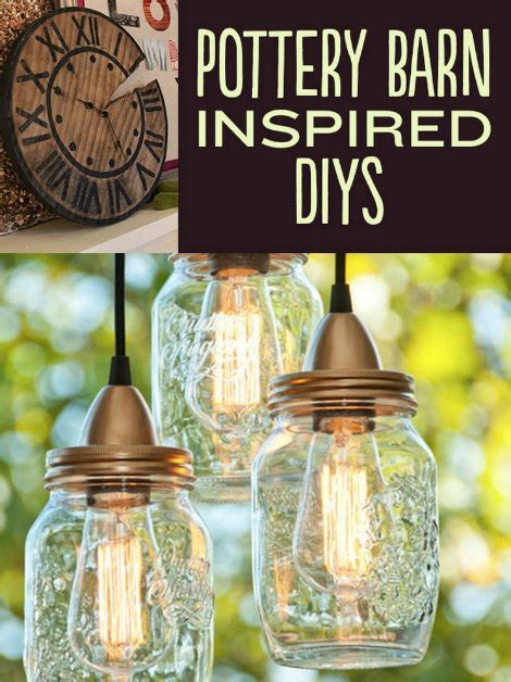 pottery barn inspiration pottery barn inspired diy projects