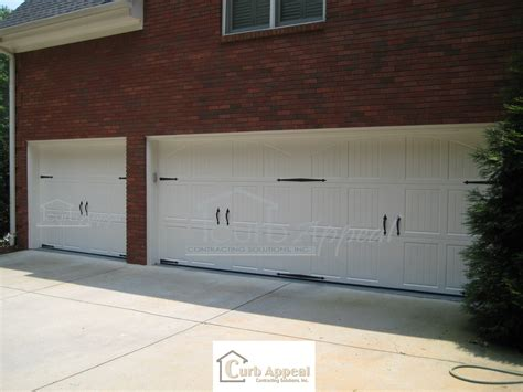 Garage Door Faux Hardware by Amarr Classica Garage Doors With Decorative Hardware