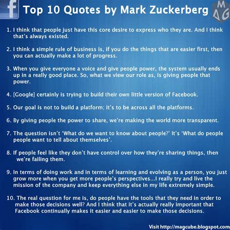 biography quotes for facebook mark zuckerberg quotes quotesgram