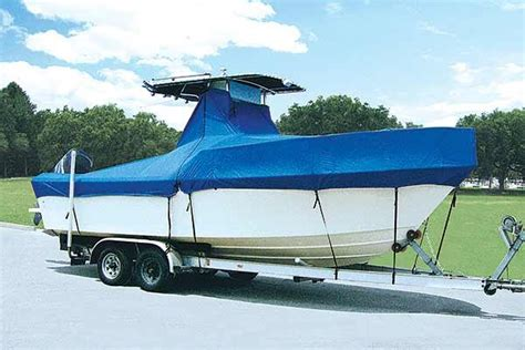 boat windshield travel cover boat covers that work trailering boatus magazine