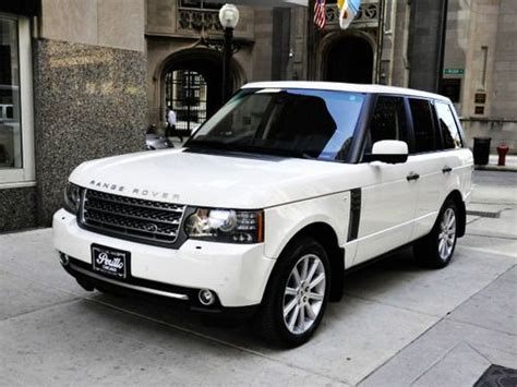 range rover coupe classic range rover white milk tinted windows factory tires
