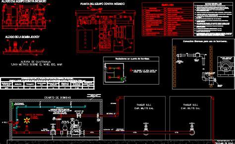 pump room dwg block  autocad designs cad