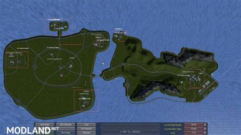 truck island map island mod for ets 2