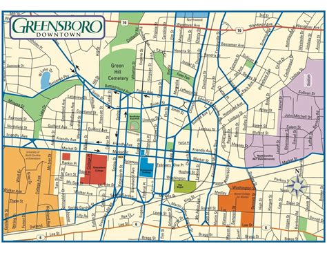 Records Nc Map Of Greensboro Nc My