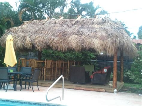 Tiki Hut Backyard by Tiki Bars