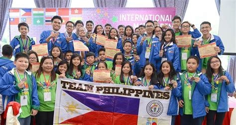 contest philippines bountiful haul math wizards bag 273 medals in