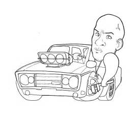 Fast And Furious 1 Coloring Pages 2 sketch template