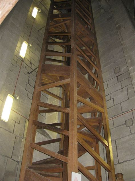 tower interior file salisbury cathedral tower interior uppermost spiral staircase jpg