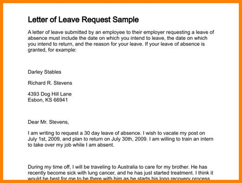 leave letter format 10 how to write annual leave letter daily task tracker