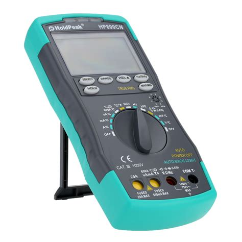 Digital Multimeter Holdpeak Hp 36c stable lcd holdpeak hp 890cn digital multimeter dc ac voltage current meter temperature