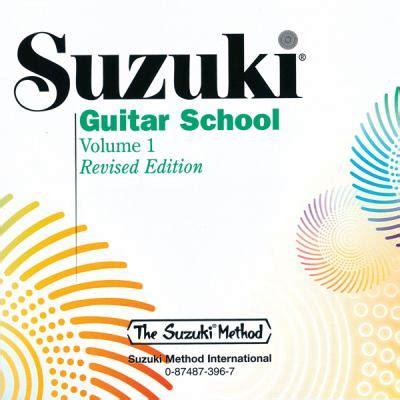 Suzuki Method For Guitar Suzuki Guitar School Volume 1 By Suzuki Method