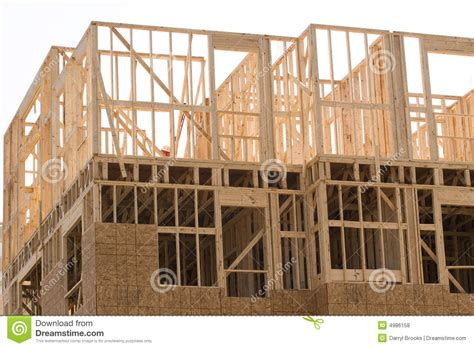 how to frame a floor framing second floor royalty free stock photos image 4986158