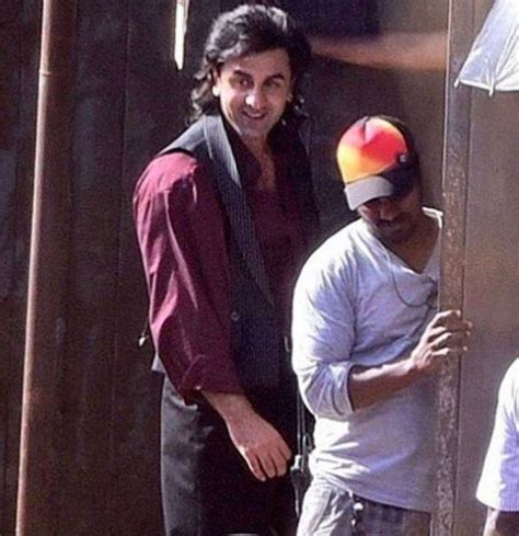 first look ranbir kapoor at roy sets filmibeat see pics ranbir kapoor s first look as sanjay dutt from