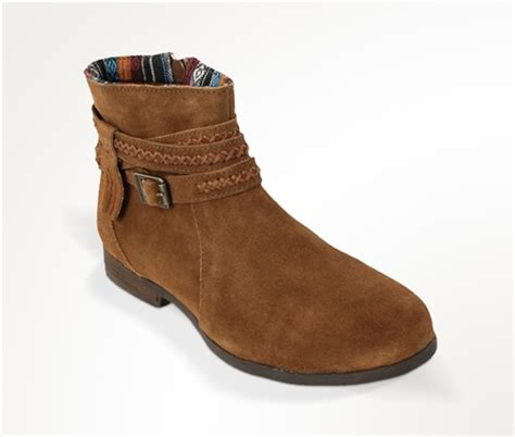 minnetonka dixon suede boots 563 brown leather bound