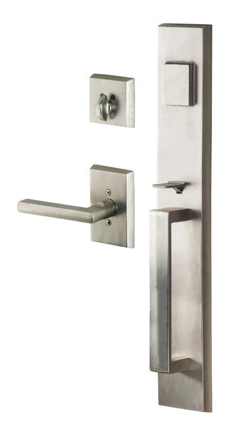 Entrance Handleset Exterior Door Hardware Door Handlesets Prestige Quot Quot Sc Quot 1 Quot St Quot Quot Home Depot