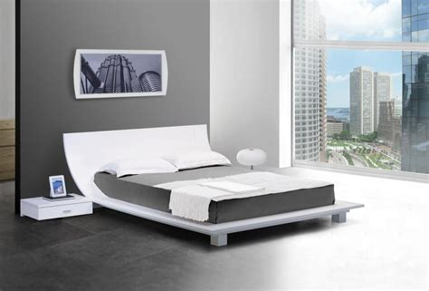 futuristic bed futuristic japanese platform bed design ideas with curved headboard and floating bedside table