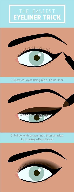 Cara Pakai Eye Liner best 25 winged eyeliner tricks ideas on eye