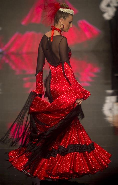 design clothes in spanish international flamenco fashion show in seville 187 gagdaily news
