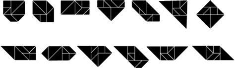 13 convex tangram paul scott convex tangrams