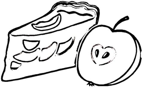 coloring pages of apple pie apple pie coloring page supercoloring com